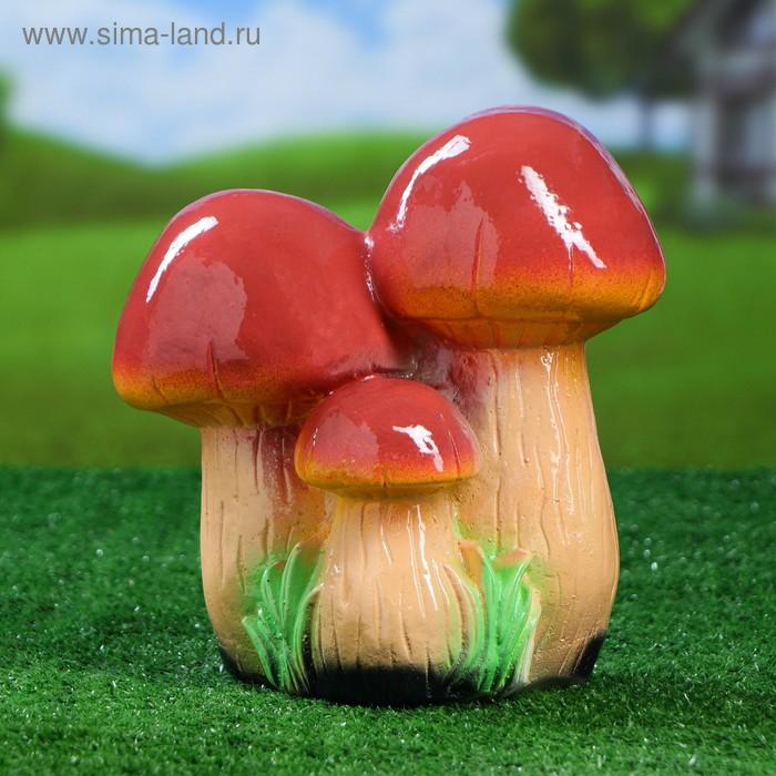 """Садовая фигура """"Семья грибов"""" средняя"""