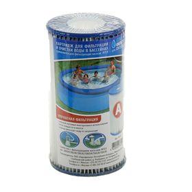Картридж для очистки воды в бассейнах МАК, для фильтров INTEX, одинарный, тип А