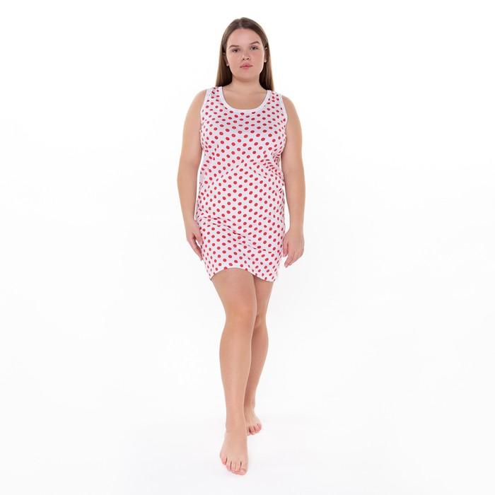 """Сорочка """"Бабушкина"""", размер 58, цвет микс"""