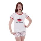 Пижама женская (футболка, шорты) W GM105, р-р 48