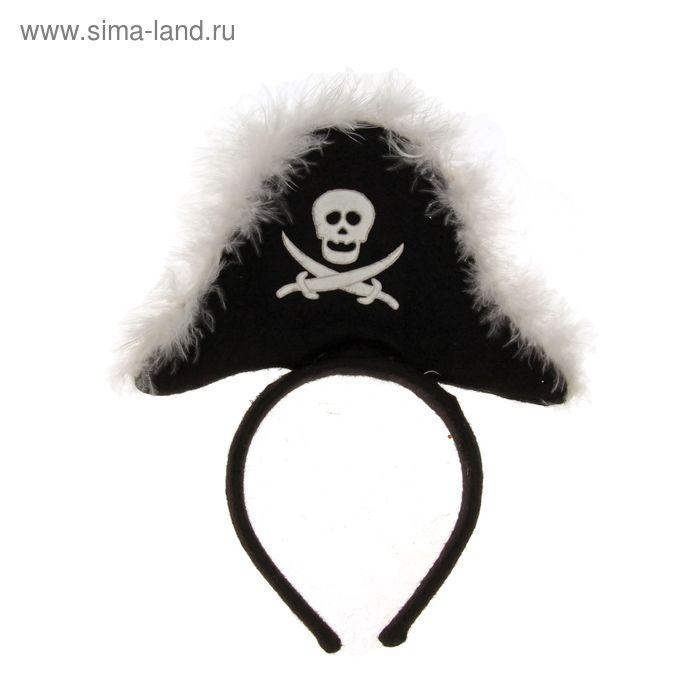 """Ободок карнавальный """"Пират"""""""