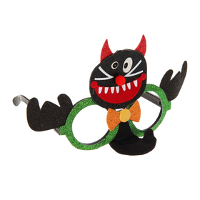 Очки карнавальные «Котик», с бантиком