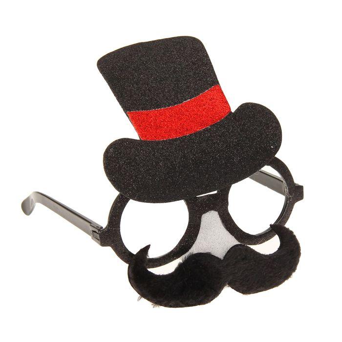 """Очки-маска """"Мистер"""", в шляпе"""