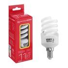 """Лампа энергосберегающая """"Старт"""", E14, 11 Вт, 2700 К"""