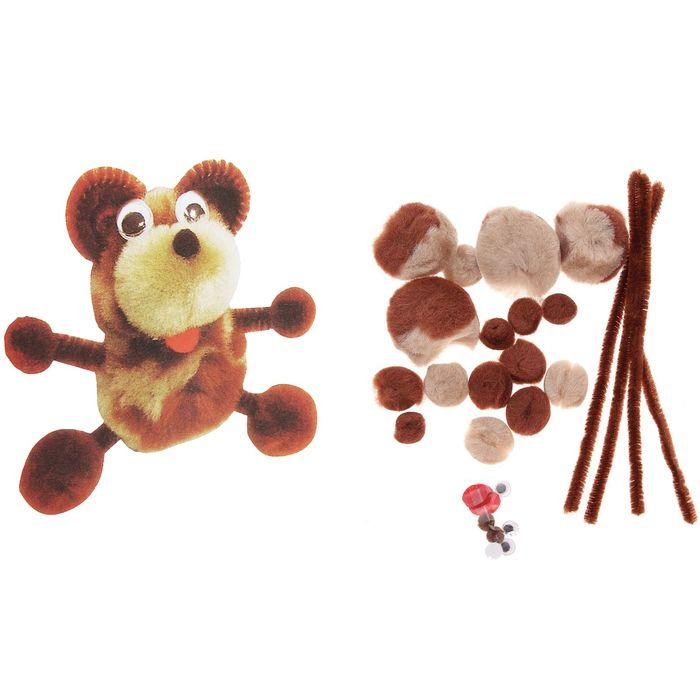Набор для творчества «Создай мишку» 1 шт. - фото 101151