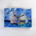 """Часы настенные, серия: Море, """"Корабли"""", 25х35  см, микс"""