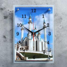 """Часы настенные, серия: Город, """"Мечеть Кул Шариф"""", 25х35  см, микс"""