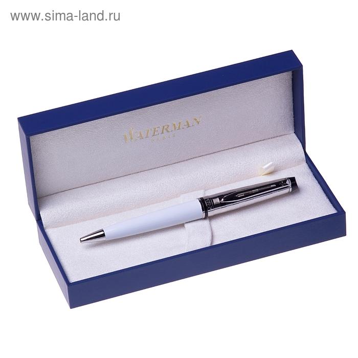 Ручка шариковая Expert DeLuxe White ST. Линия письма-средняя, чернила: синие