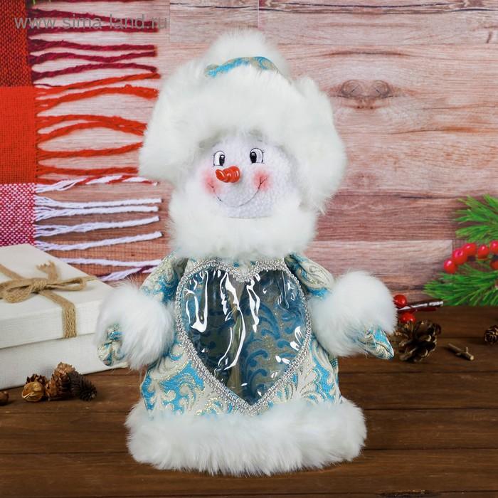 """Подарочная упаковка """"Снеговик"""", 600 г"""