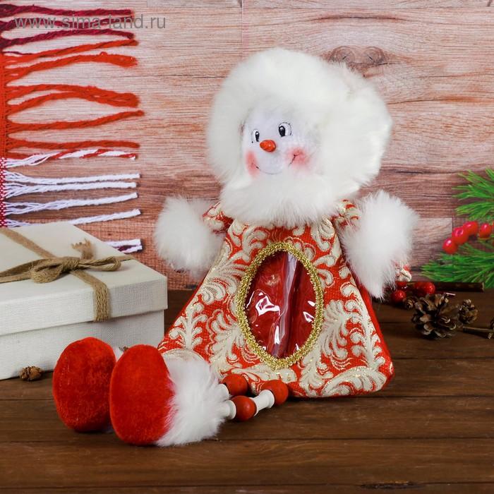 """Подарочная упаковка """"Снеговик"""", длинные ножки, 400 г"""