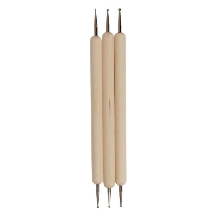 Набор инструментов для лепки, 3 предмета