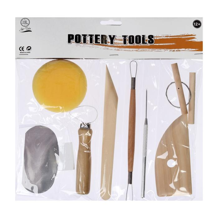 Набор инструментов для лепки, 8 предметов