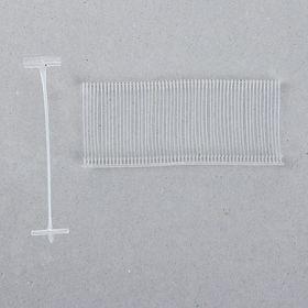 Набор соединителей пластиковых для пистолета-маркиратора, 5000 шт., длина 3.5 см, для стандартных игл