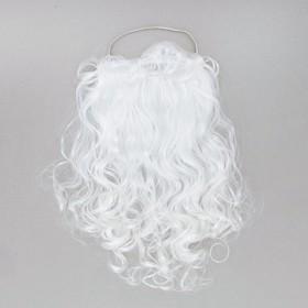 Карнавальная борода «Дедушка Мороз», на резинке, 50 г, 47 см