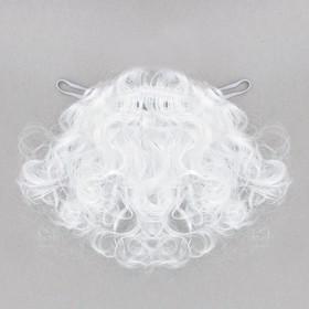 Карнавальная борода «Дед Мороз», 20 г, 23 см