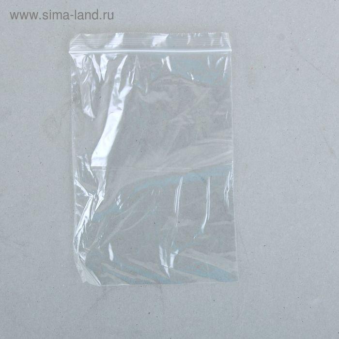 Пакет zip lock 12 х 17 см
