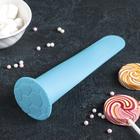 """Форма для леденцов и мороженого, 1 ячейка, 19х5,5х4 см """"Футбол"""", цвета МИКС"""