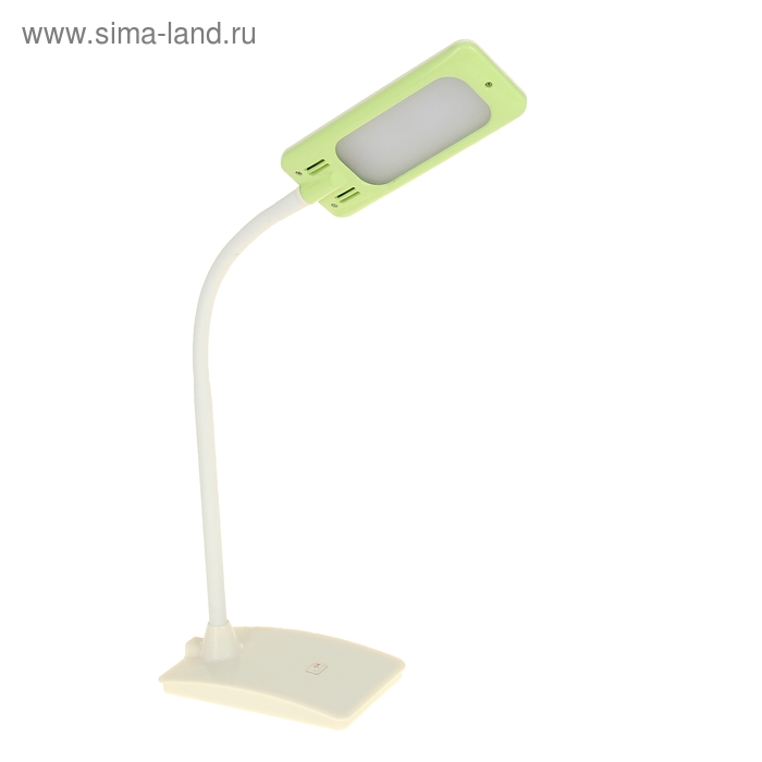 Лампа настольная Classic c usb-переходником салатовая, LEDx20