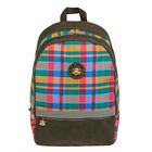 Рюкзак молодёжный Paul Frank, 2 отдела на молнии, наружный карман, разноцветный