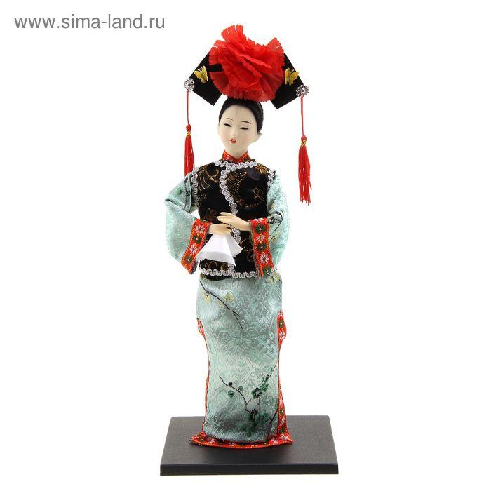 """Кукла коллекционная """"Китаянка в традиционном костюме"""""""