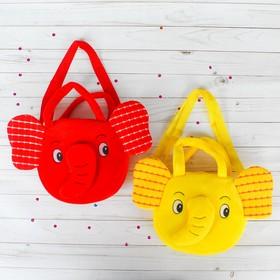 Мягкая сумочка «Слоник», цвета МИКС