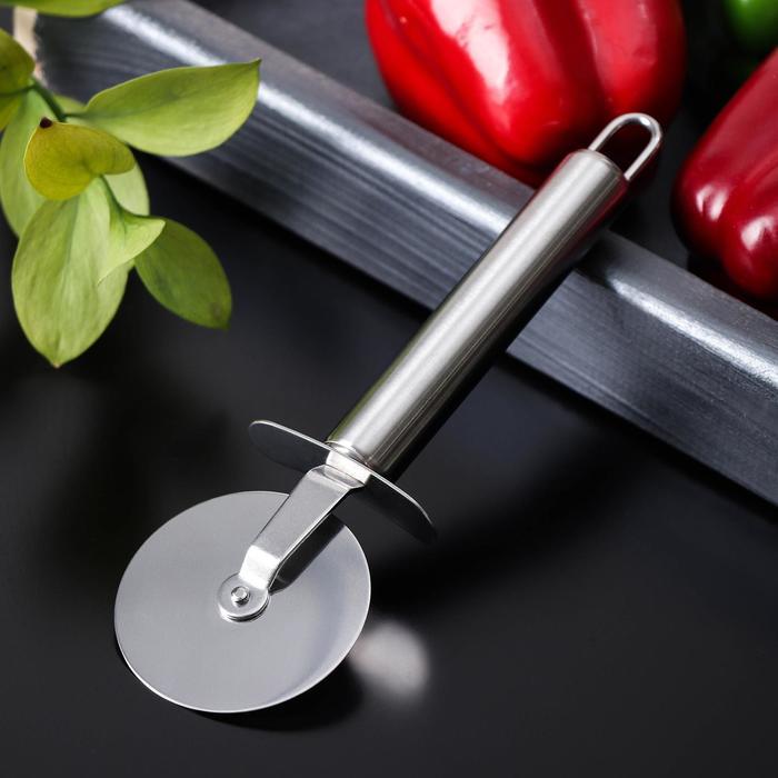 """Нож для теста и пиццы """"Металлик"""" 19,5 см"""