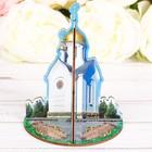 """Настольный сувенир 3D """"Новосибирск. Часовня Святого Николая"""""""