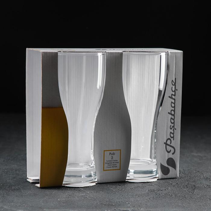 Набор бокалов для пива «Паб», 500 мл, 2 шт - фото 308063643