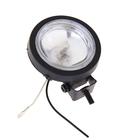 Противотуманная фара, диаметр 9,5 см, 1 шт., цоколь H3, стекло белое, модель AS001