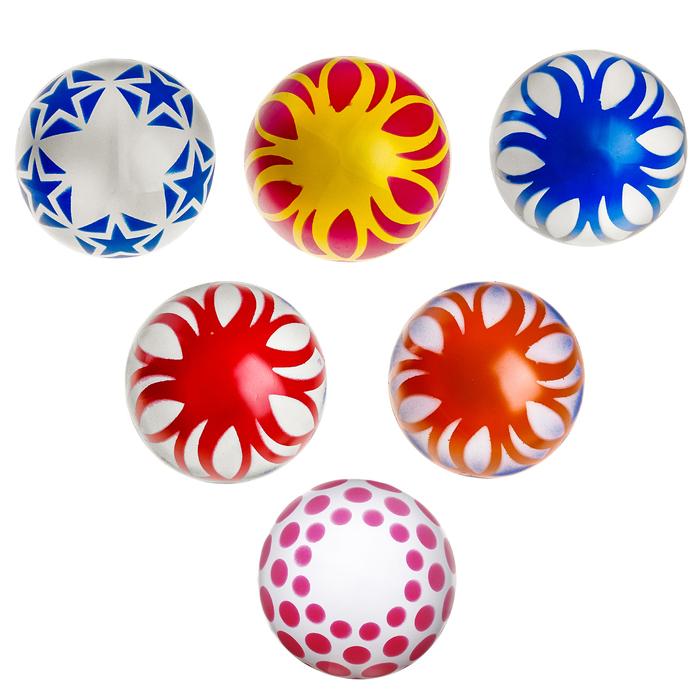Мяч лакированный, диаметр 150 мм, МИКС