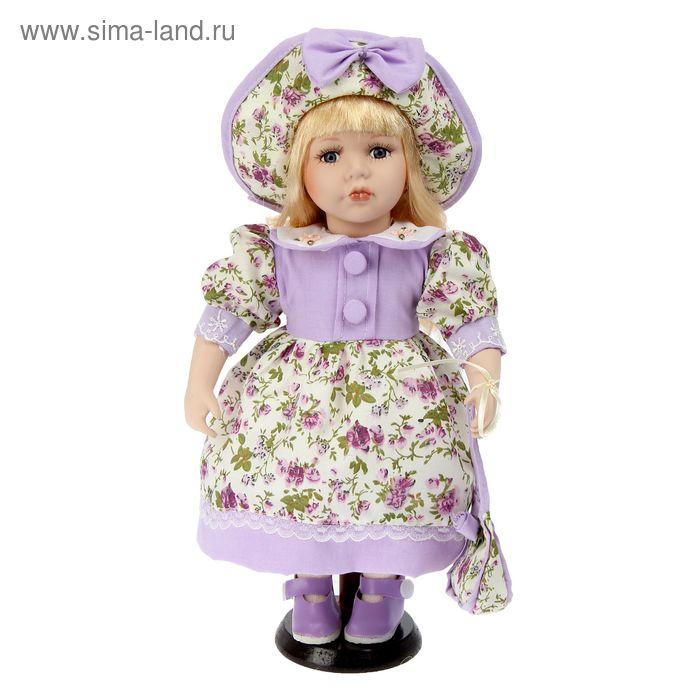 """Кукла коллекционная """"Снежанночка с сумочкой"""""""