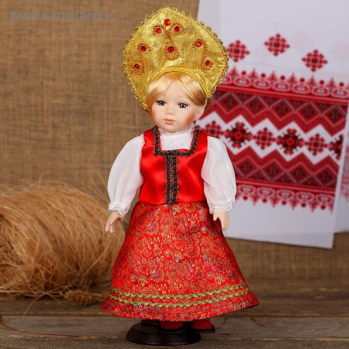 """Кукла коллекционная """"Русская краса"""""""
