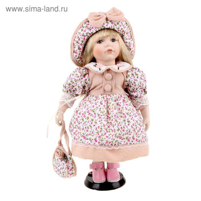 """Кукла коллекционная """"Машенька с сумочкой"""""""