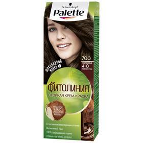 Крем-краска для волос Palette Фитолиния, тон 700, каштановый
