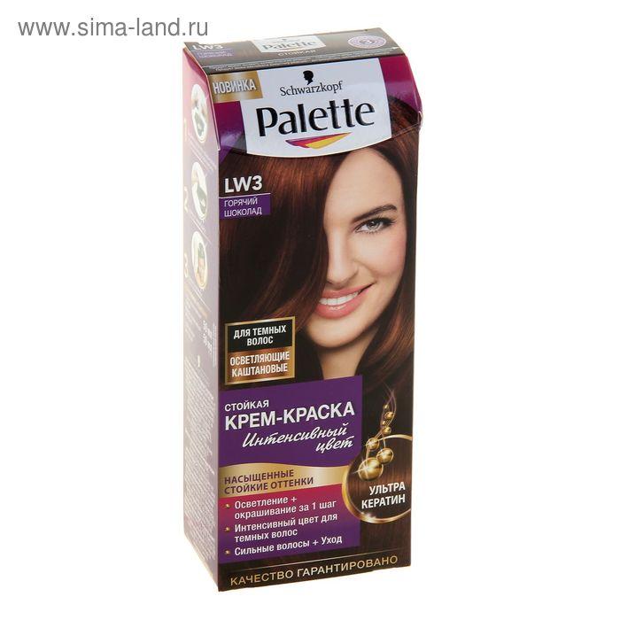 Краска для волос Palette LW3 Горячий шоколад, 50 мл