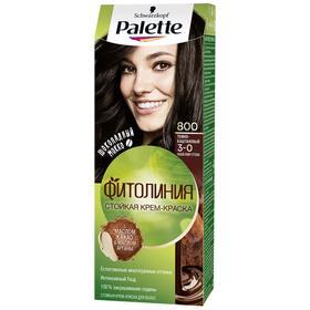 Крем-краска для волос Palette Фитолиния, тон 800, тёмно-каштановый