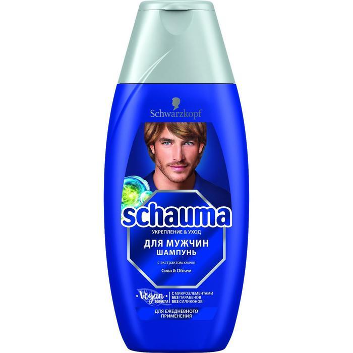 Шампунь для волос Schauma для мужчин с хмелем, 225 мл