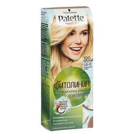Крем-краска для волос Palette Фитолиния, тон 100, скандинавский блондин