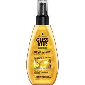 Масло-спрей для волос Gliss Kur Oil Nutritive, термозащита, 150 мл