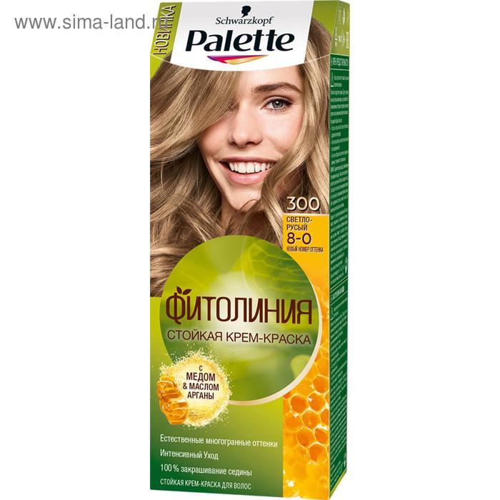 Краска для волос Palette Фитолиния 300 Светло-русый, 50 мл