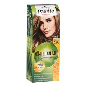 Крем-краска для волос Palette Фитолиния, тон 465, золотистый средне-русый
