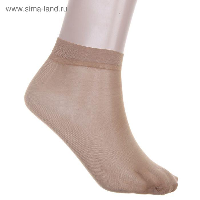 Набор носков женских (10 пар) 40 den цвет бежевый