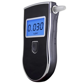 Breathalyzer e-N2, battery powered, LED backlight