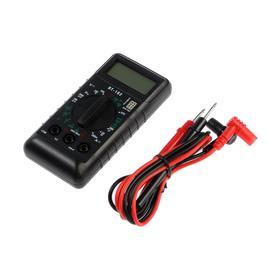Мультиметр TUNDRA 'мини', DT-182, ACV 200-500V, DCV 0.2-500V, проверка батареек 1.5 и 9V