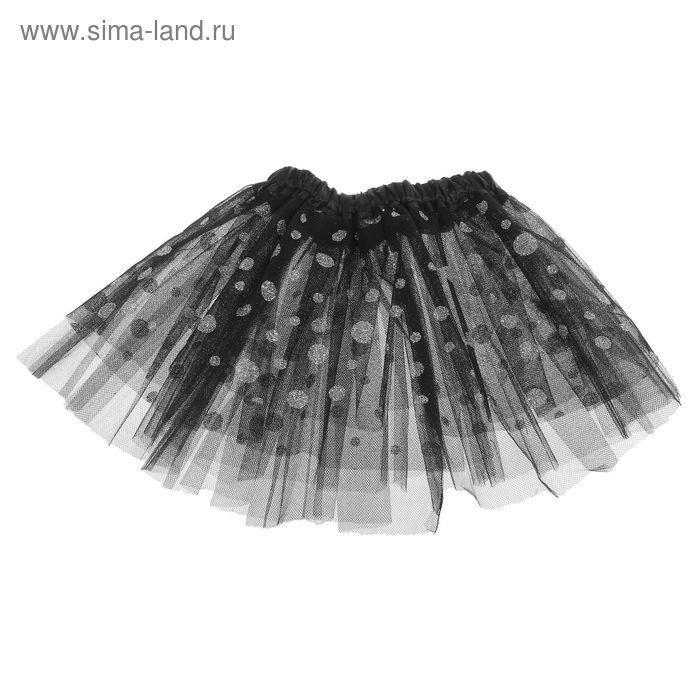 """Карнавальная юбка """"Красотка"""" с бантиком 4-6 лет"""