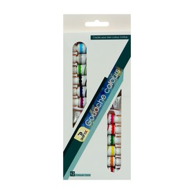 Краски гуашь 12цв в пластик тубе 12мл в картонной коробке Ош