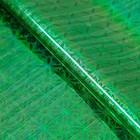 Film holography, green, 70 x 100 cm, pattern MIX