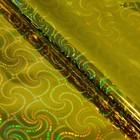 Пленка голография, золотой, 70 х100 см, рисунок МИКС