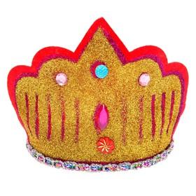 Корона на ободке «3 камня»