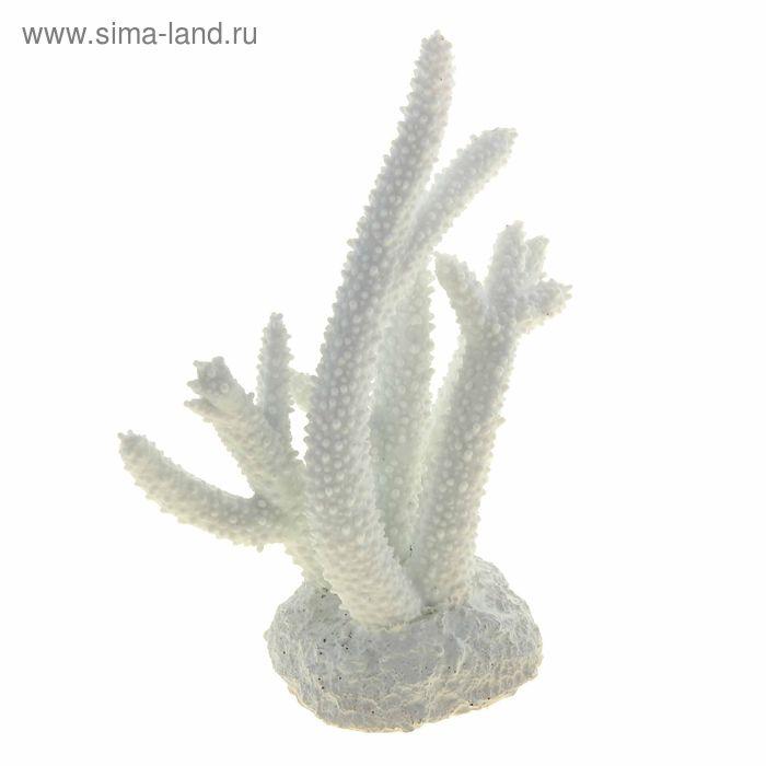 Коралл пластиковый белый 14,5*4,7*15  см Decor 263